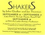 Shakers by University of Southern Maine Department of Theatre