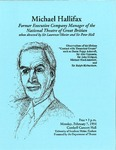 Michael Hallifax by University of Southern Maine Department of Theatre