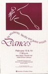 Dances by Students, Faculty and Guests Artists by University of Southern Maine Department of Theatre