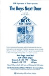 The Boys Next Door Poster [1997] by University of Southern Maine Department of Theatre