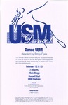 Dance USM! Poster [1998] by University of Southern Maine Department of Theatre