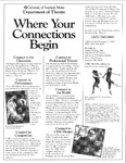 Where Your Connections Begin Poster by University of Southern Maine Department of Theatre