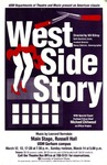 West Side Story Poster by University of Southern Maine Department of Theatre