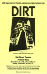Dirt Poster by University of Southern Maine Department of Theatre