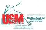 Dance USM! Poster [1999] by University of Southern Maine Department of Theatre