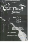 SPA To Gillian on Her 37th Birthday Poster [1997]