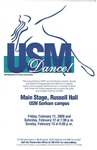 Dance USM! Poster [2000] by University of Southern Maine Department of Theatre