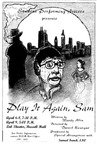 Play It Again, Sam Poster by University of Southern Maine Department of Theatre