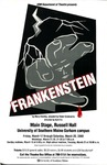 Frankenstein Poster [2000] by University of Southern Maine Department of Theatre