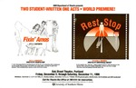 Student One-Acts: Fixin' Amos and Rest Stop Poster [1999] by University of Southern Maine Department of Theatre