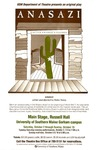 Anasazi Poster by University of Southern Maine Department of Theatre
