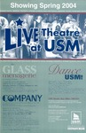 Live Theatre at USM Showing Spring 2004