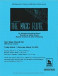 The Magic Flute Poster by University of Southern Maine Department of Theatre