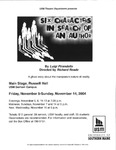 Six Characters in Search of an Author Flyer [2004] by University of Southern Maine Department of Theatre