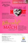 Human at Heart & Heavenly Match by University of Southern Maine Department of Theatre