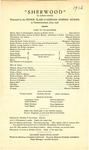 Sherwood Program [1926] by Gorham Normal School