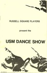 USM Dance Show Program [1983]