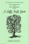 A Little Night Music Program [1990] by University of Southern Maine Department of Theatre