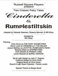 Cinderella & Rumplestiltskin Program [1993] by University of Southern Maine Department of Theatre