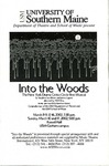 Into the Woods Program [2002] by University of Southern Maine Department of Theatre
