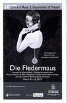 Die Fledermaus by University of Southern Maine Department of Theatre