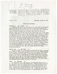 The Newspaper, Vol. 1, No. 4; 03/26/1969 by The Newspaper