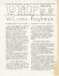 UMPus, Vol. 2, No. 1, 09/13/1963 by University of Maine Portland