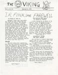 The UMP Viking, Vol. I, No. 13, 01/09/1970 by University of Maine Portland