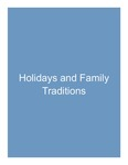 6. Holidays and Family Traditions by Lance Gibbs PhD