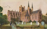 Chester Cathedral Postcard by Wilfrid S. Mailhot Jr