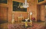Windsor Castle Ante Throne Room Postcard