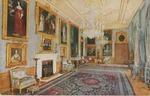 Windsor Castle Van Dyck Room Postcard