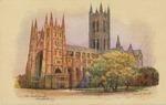 Canterbury Cathedral Postcard
