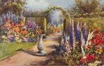 UK Garden Postcard