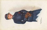 Auxiliary Fire Service Postcard