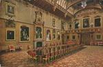 Windsor Castle Waterloo Gallery Postcard