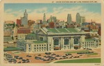 37 Union Station and Sky Line, Kansas City, Missouri Postcard