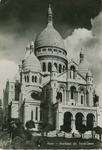 """Paris """"Basilique du Sacré Coeur"""" Postcard by Wilfrid S. Mailhot Jr."""