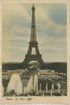 """Paris """"La Tour Eiffel"""" Postcard by Wilfrid S. Mailhot Jr."""