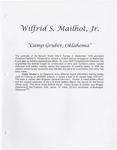 Wilfrid S. Mailhot, Jr. - Camp Gruber, Oklahoma