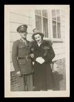 Wilfrid S. Mailhot Jr. and Leona Dutil Engagement Photograph
