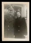 Wilfrid S. Mailhot Jr. with Woman in Fur Coat Photograph
