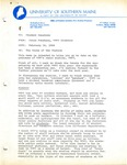 Student Affairs Memo, 02/16/1984 by 90.9 WMPG FM