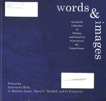 Words & Images 2003 by University of Southern Maine