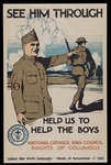 See him through--Help us to help the boys by Knights of Columbus and Burton Rice